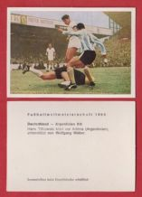 West Germany v Argentina Tilkowski @ Aston Villa